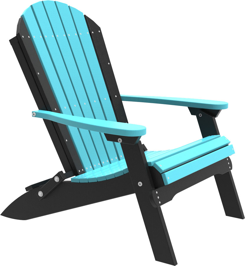 Poly Folding Adirondack Chair 1